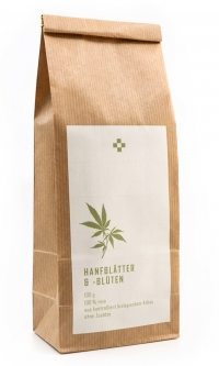 Hemp tea made of leaves and flowers 100 g